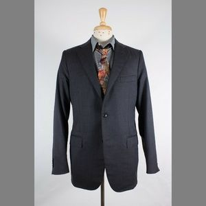 Corneliani 40L Gray Sport Coat Y907